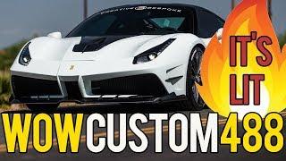 Ferrari 488 GTB Misha Creative Bespoke