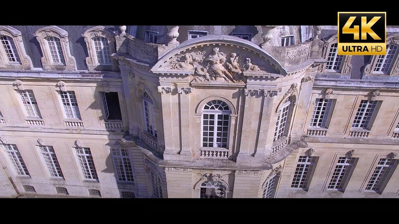 CHÂTEAU DE CHAMPLÂTREUX - VIDÉO PAR DRONE 4K