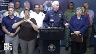 WATCH LIVE: South Carolina Gov. McMaster gives afternoon update on Hurricane Dorian
