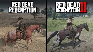 Red Dead Redemption 2 vs Red Dead Redemption | Direct Comparison