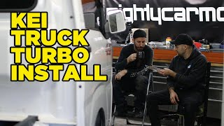 homepage tile video photo for The full story of our turbocharged Kei Truck (Disrespected Timtam)