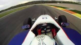 GoPro Video:  Formula BMW - Valencia, Spain Test - December 2009 - Onboard