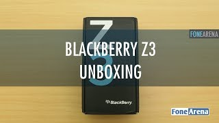 Blackberry Z3 Unboxing and First Impressions
