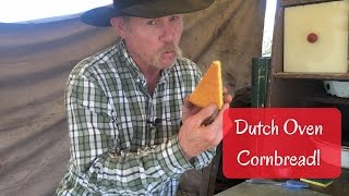 How to Bake Cornbread in a Dutch Oven with Wood Coals