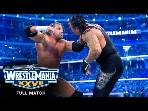 FULL MATCH - Undertaker vs. Triple H - No Holds Barred Match: WrestleMania XXVII