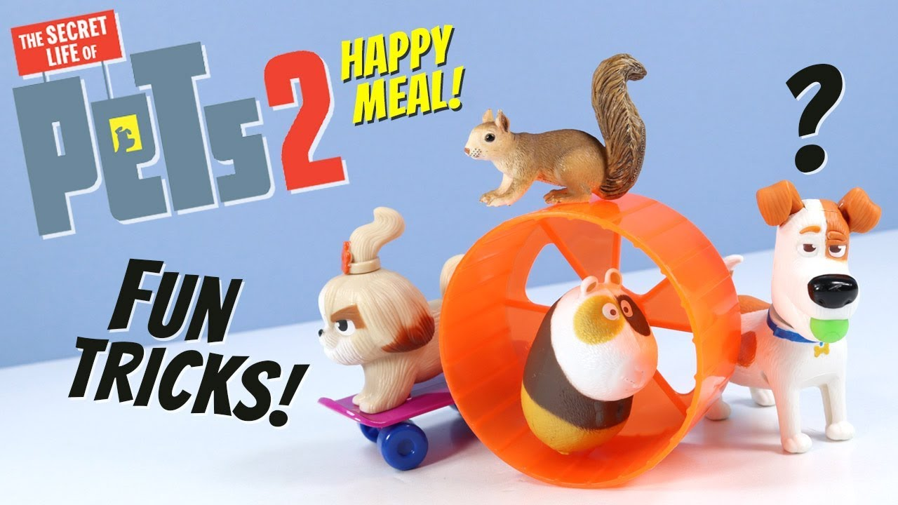 The Secret Life Of Pets 2 Mcdonalds Happy Meal Toys Full