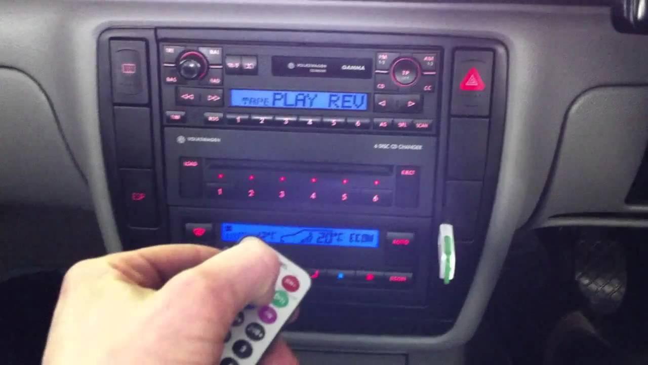 VW GAMMA V USB+MP3