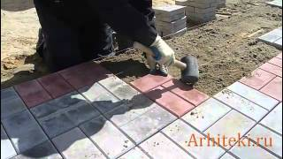 видео Укладка брусчатки цена