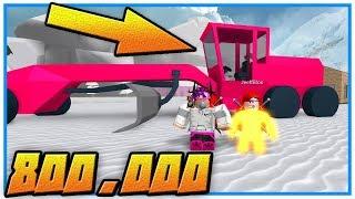 Roblox - COMPREI O CARRO DE 800 000 ' Snow Shoveling Simulator