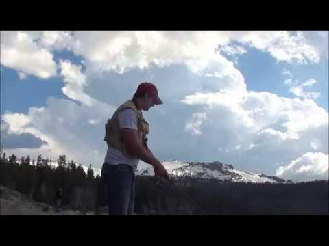 Caples lake 5 11 13 youtube for Caples lake fishing report