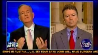 Sen. Rand Paul on Fox's the O'Reilly Factor - 2/5/13