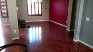 Engineered wood floor removal
