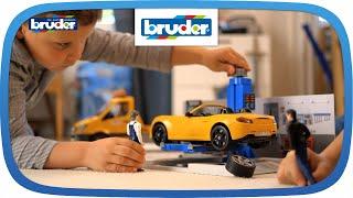 Bworld PKW Werkstatt -- 62110 -- BRUDER Spielwaren