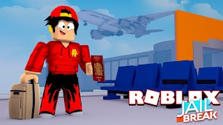 ROBLOX JAIL BREAK - ROPO BREAKS OUT OF PRISON AND STEALS A PLANE!!!