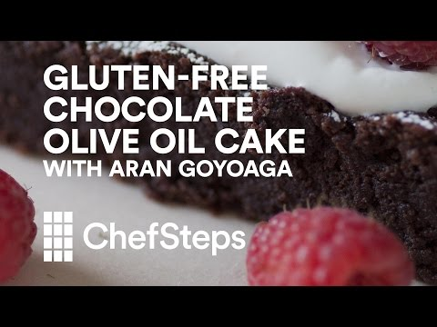 Gluten-Free Chocolate Olive Oil Cake from Canelle et Vanille's Aran Goyoaga