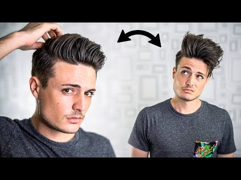 3 GREAT Hair Hacks for THICK Hair | Mens Thick Hair Tips | BluMaan 2017