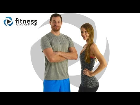 Fitness Blender's 5 Day Challenge - Strong and Lean - Day 4
