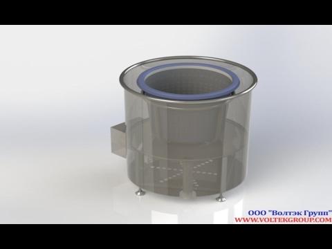Описание и характеристики промышленной центрифуги лц-10.