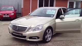 2010 10 mercedes benz e class 3 0 e350 cdi blueeffciency avantgarde sorry now sold