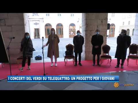I CONCERTI DEL VERDI SU TELEQUATTRO: UN PROGETTO PER I GIOVANI   24/11/2020