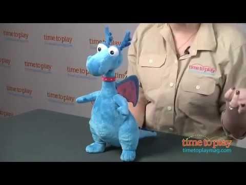 Мягкая игрушка Beanie Babies - Дракон Stuffy (звук), 17 см