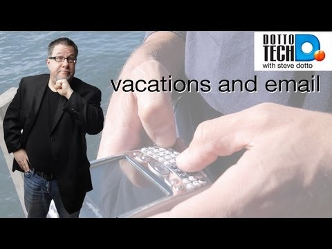 Email and Vacations