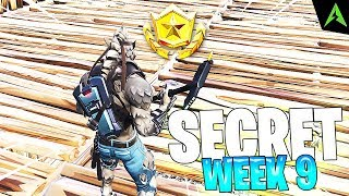THE SLEIGH IS * SECRET LOCATION * FOR WEEK 9 IN FORTNITE!
