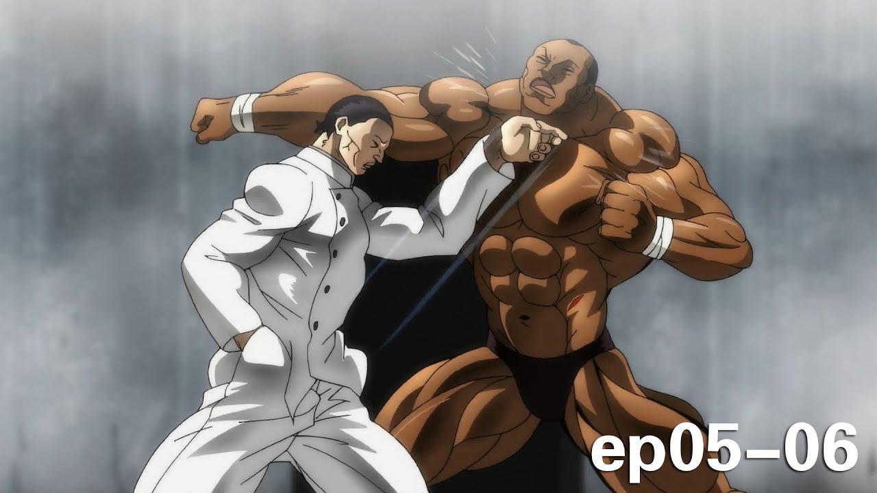 史上最强肌肉VS百战百胜的闪电拔拳术,力量与速度的对决!《刃牙:大擂台赛篇05-06》【宇哥讲电影】