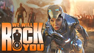 Marvel Cinematic Endgame - We Will Rock You