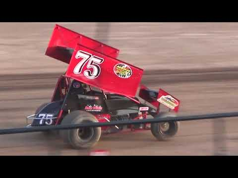 Canandaigua Speedway Brandyn Griffin feature 1 8/26/17