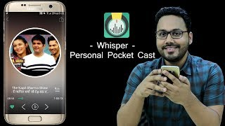 Whisper Pocket FM - Listen Your Favorite Music, Comedy Shows, Anytime Anywhere