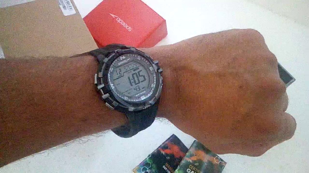 f7f2ac611f3 Relógio Masculino Speedo 65069G0EVNP2 Digital - YouTube