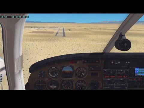 VFR Flight From Gillespie Field (KSEE) to Victorville (KVCV)