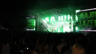 MAJOR LAZER plays Get Free (ANDY C remix) at Digital Dreams Music Festival