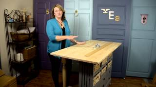 DIY: Build a Craft Table