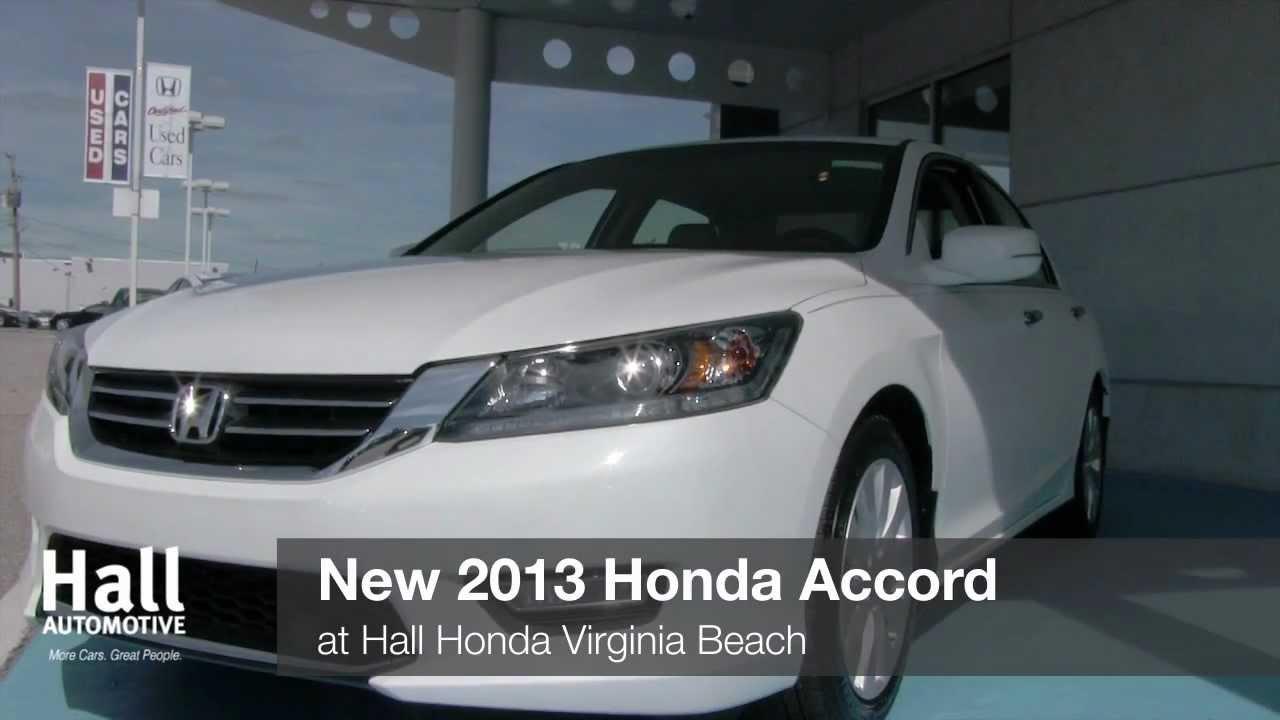 New 2013 Honda Accord Video At Hall Honda Virginia Beach | VA Honda Dealer
