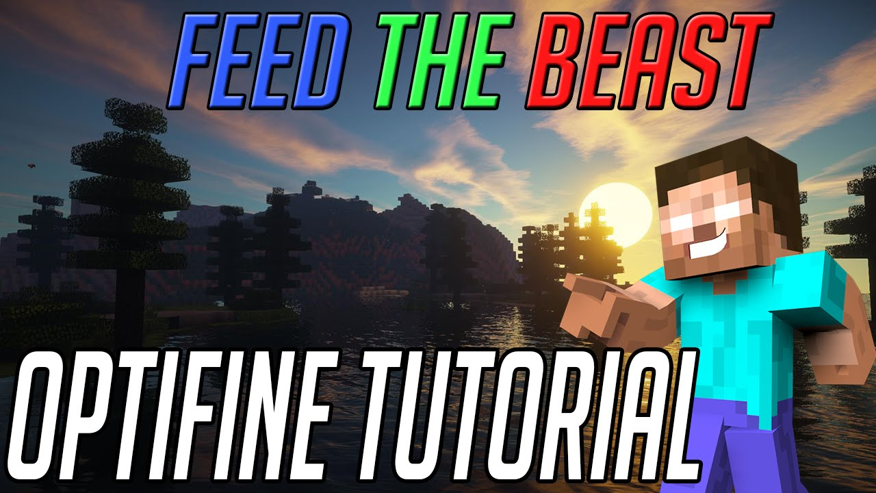 How to Install Optifine for FTB 1 7 10+
