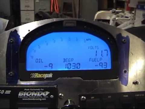 Racepak UDX IQ3 Display Dash on