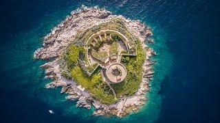 Крепость Мамула в Черногории - съемки с квадракоптера