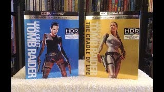 Tomb Raider / The Cradle of Life 4K BLU RAY ULTRA HD Review + Unboxing - UHD