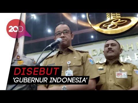 Anies: Tanggung Jawab Gubernur DKI Besar, Tapi Belum Tentu Berat