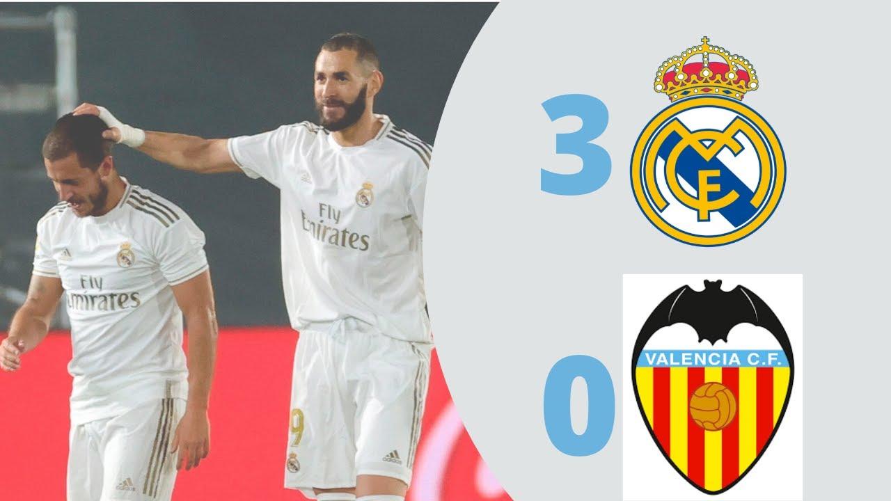 REAL MADRID vs VALENCIA (3 - 0) GOLES y RESUMEN  Goals & Extended Highlights #halamadrid