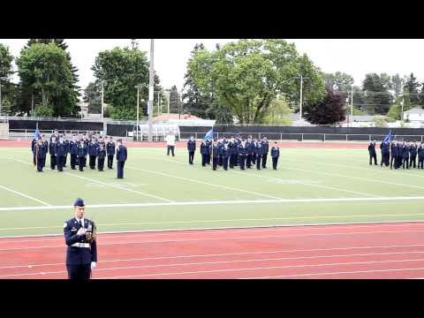 Clover Park High School AFJROTC PASS IN REVIEW Part 2