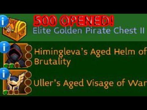 Arcane Legends 500x Elite Gold Pirate Ii Chests