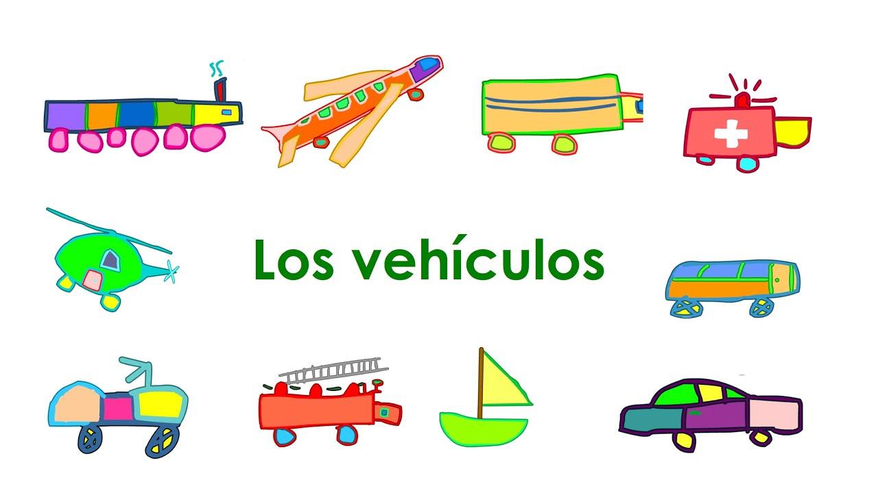 I M Bilingual Spanish Vocabulary For Kids Lesson 2 Transportation Vehicles