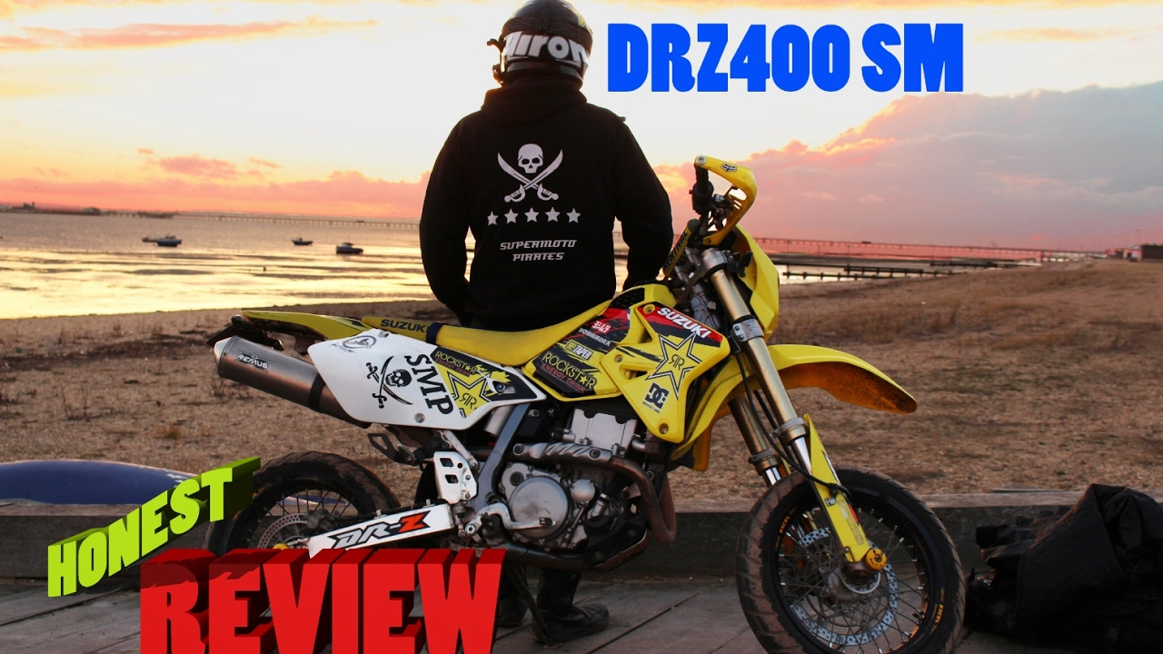 suzuki drz400 honest review - youtube