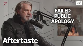 Failed public apology on radio | Aftertaste