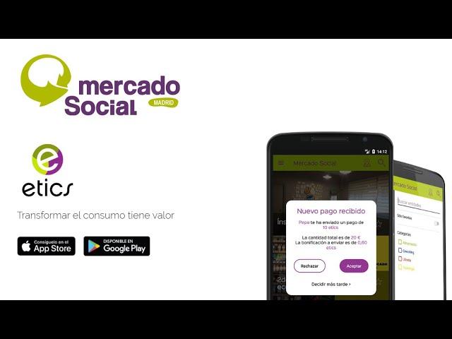 ¿Cómo pagar con QR en la app de los etics si eres consumidora?