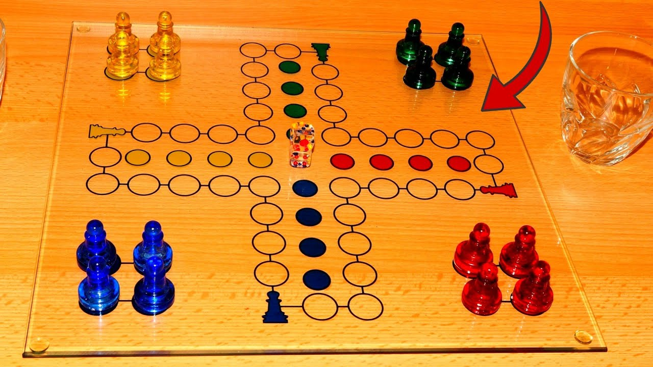 Download How to make LUDO Game with cardboard   DIY LUDO