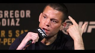 Nate Diaz Says His Team Will Beat Conor McGregor's Team's Ass